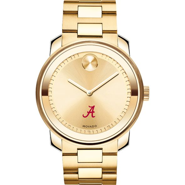 University of Alabama Men's Movado Gold Bold - Image 2