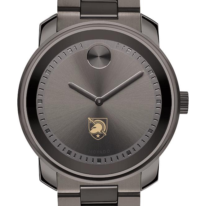 West Point Men's Movado BOLD Gunmetal Grey