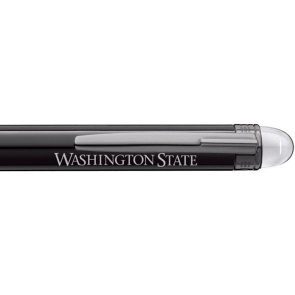 Washington State University Montblanc StarWalker Ballpoint Pen in Ruthenium - Image 2