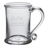 UNC Kenan-Flagler Glass Tankard by Simon Pearce