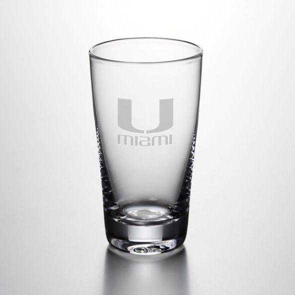 Miami Ascutney Pint Glass by Simon Pearce - Image 1