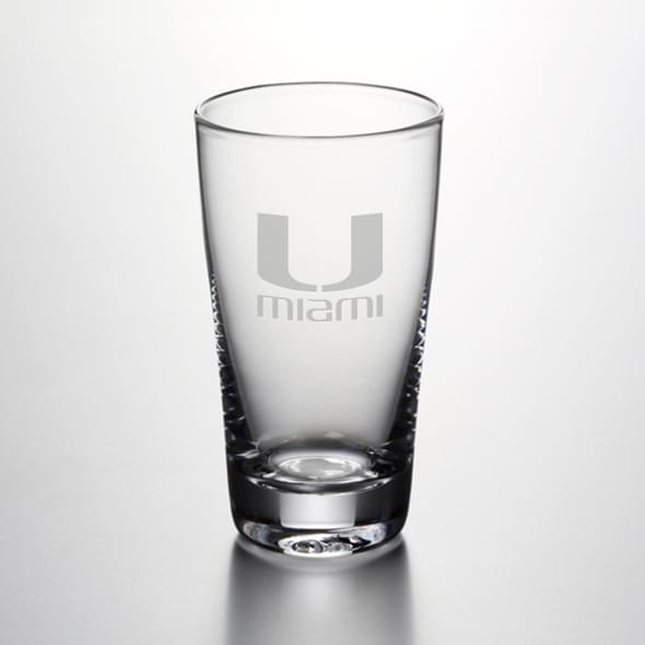 Miami Ascutney Pint Glass by Simon Pearce