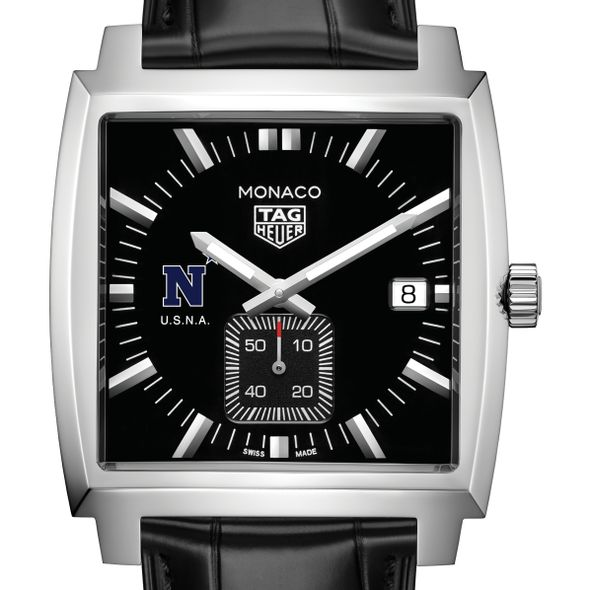 US Naval Academy TAG Heuer Monaco with Quartz Movement for Men - Image 1