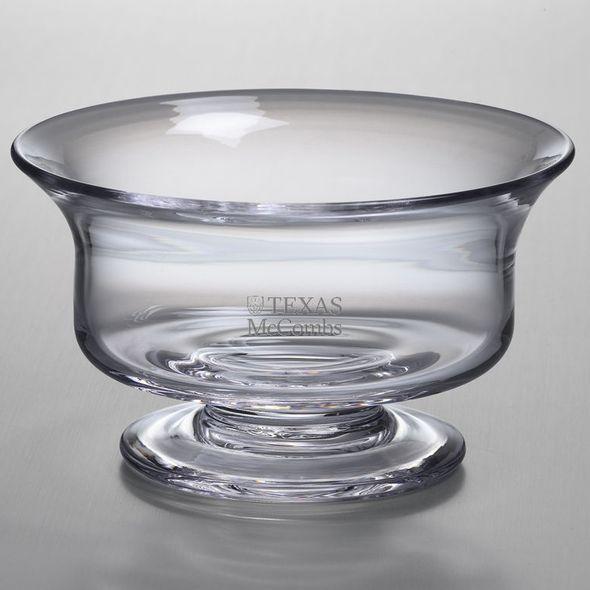 Texas McCombs Simon Pearce Glass Revere Bowl Med - Image 1