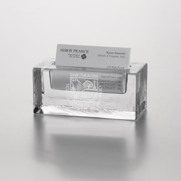 Dartmouth Glass Business Cardholder by Simon Pearce - Image 2