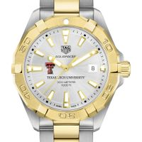Texas Tech Men's TAG Heuer Two-Tone Aquaracer