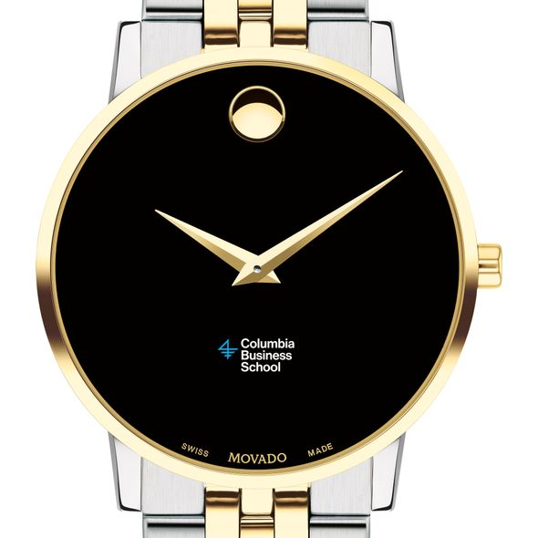 Columbia Business Men's Movado Two-Tone Museum Classic Bracelet