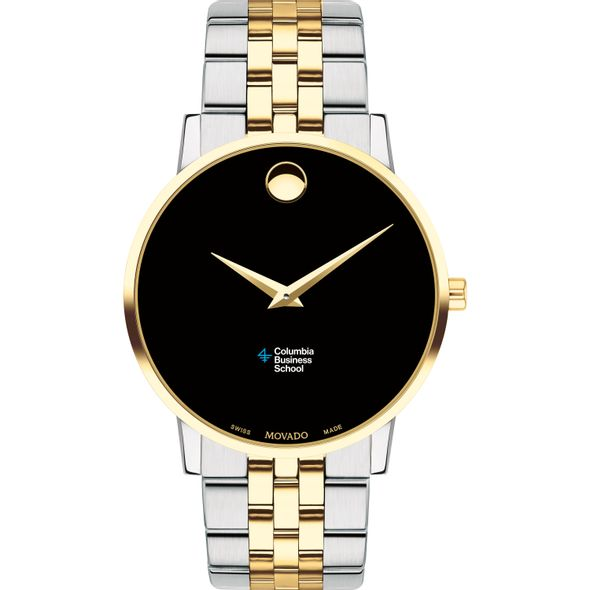 Columbia Business Men's Movado Two-Tone Museum Classic Bracelet - Image 2