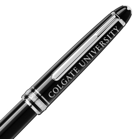 Colgate Montblanc Meisterstück Classique Rollerball Pen in Platinum - Image 2