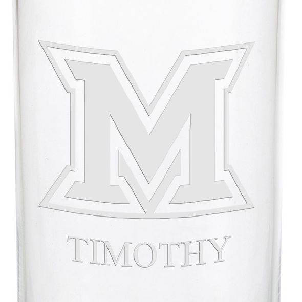 Miami University in Ohio Iced Beverage Glasses - Set of 2 - Image 3