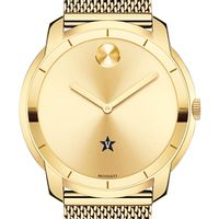 Vanderbilt University Men's Movado Gold Bold 44