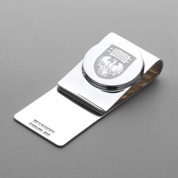 Chicago Sterling Silver Money Clip