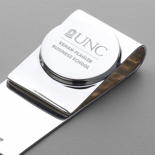 UNC Kenan-Flagler Sterling Silver Money Clip - Image 2