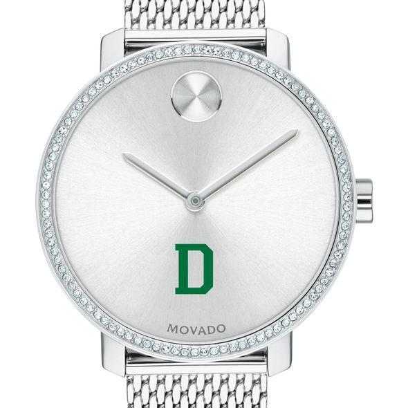 Dartmouth Women's Movado Bold with Crystal Bezel & Mesh Bracelet - Image 1