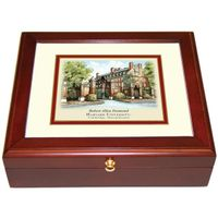 Harvard Eglomise Desk Box