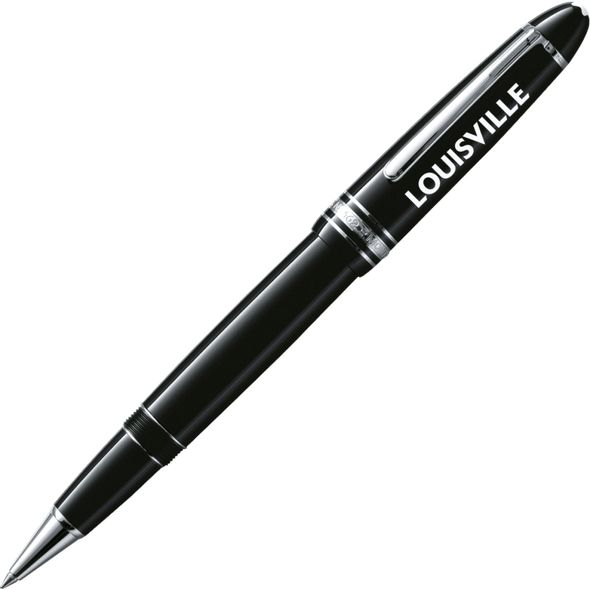 University of Louisville Montblanc Meisterstück LeGrand Rollerball Pen in Platinum