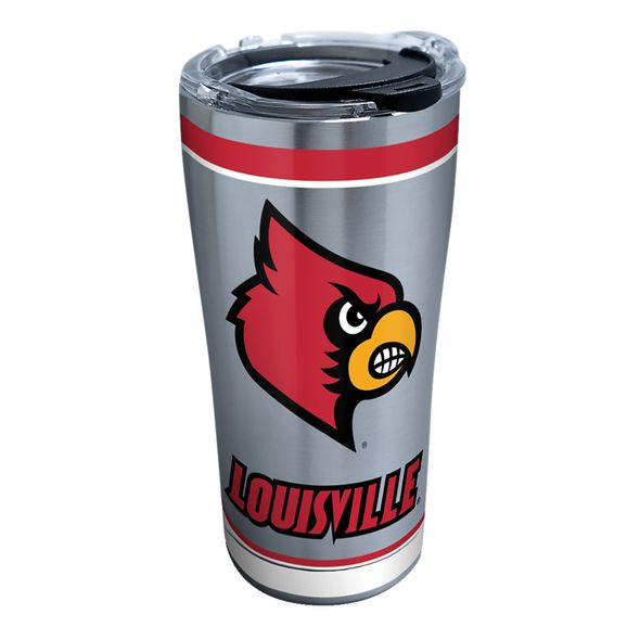 Louisville 20 oz. Stainless Steel Tervis Tumblers with Hammer Lids - Set of 2