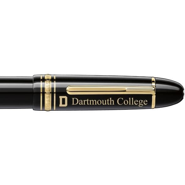 Dartmouth College Montblanc Meisterstück 149 Fountain Pen in Gold - Image 2