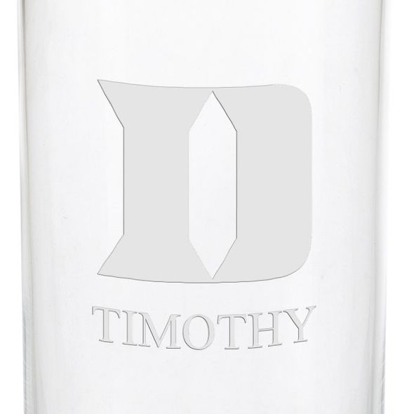 Duke University Iced Beverage Glasses - Set of 2 - Image 3