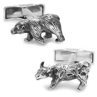 Bear and Bull Cufflinks