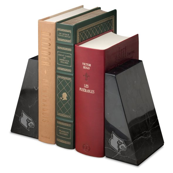 University of Louisville Marble Bookends by M.LaHart