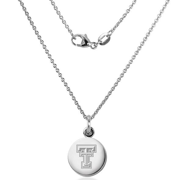 Texas Tech Necklace with Charm in Sterling Silver - Image 2