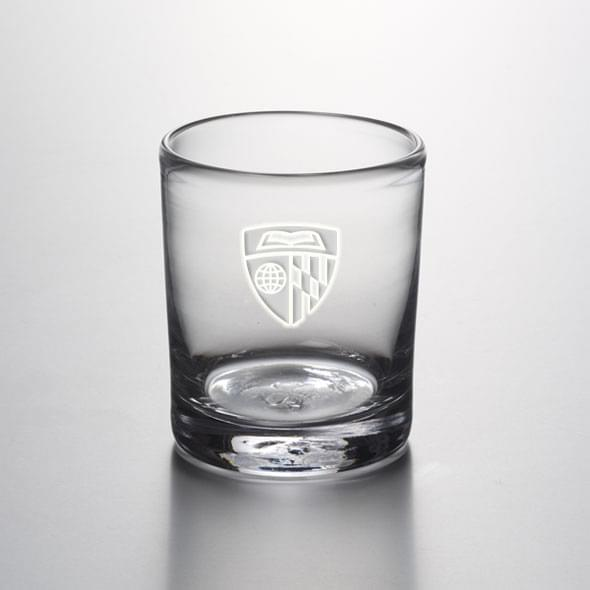 Johns Hopkins Double Old Fashioned Glass by Simon Pearce - Image 2