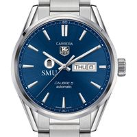 Southern Methodist University Men's TAG Heuer Carrera with Day-Date