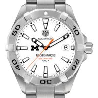 Michigan Ross Men's TAG Heuer Steel Aquaracer