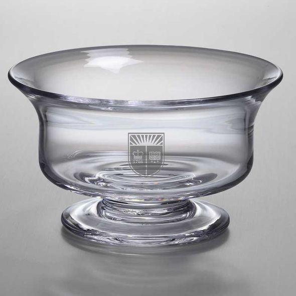 Rutgers University Simon Pearce Glass Revere Bowl Med