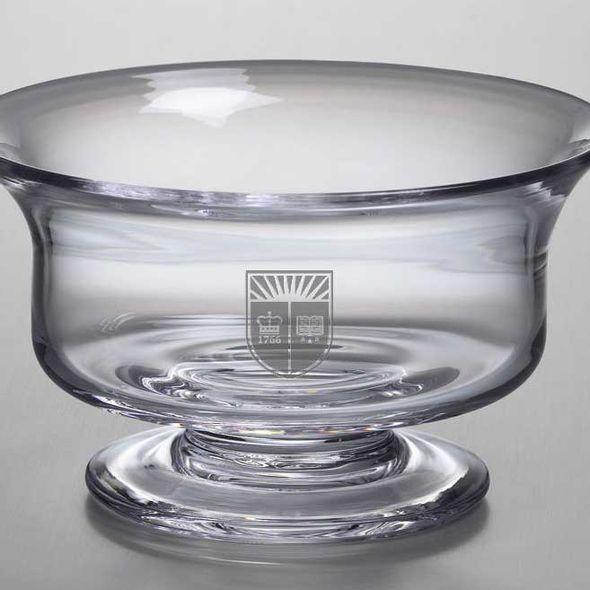 Rutgers University Simon Pearce Glass Revere Bowl Med - Image 2