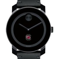 University of South Carolina Men's Movado BOLD with Leather Strap