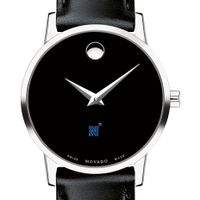 USNA Women's Movado Museum with Leather Strap