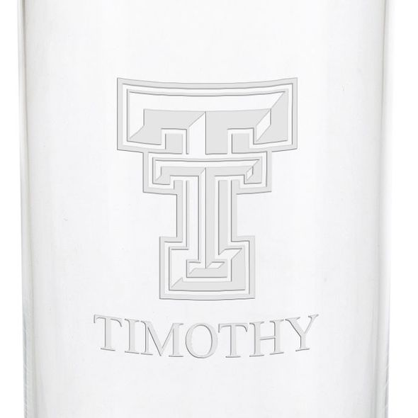 Texas Tech Iced Beverage Glasses - Set of 2 - Image 3