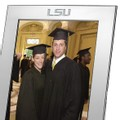 LSU Polished Pewter 8x10 Picture Frame - Image 2