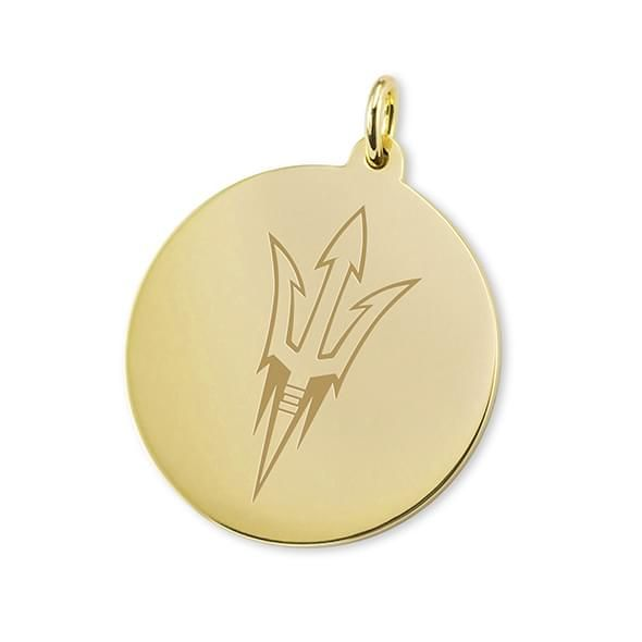 Arizona State 18K Gold Charm
