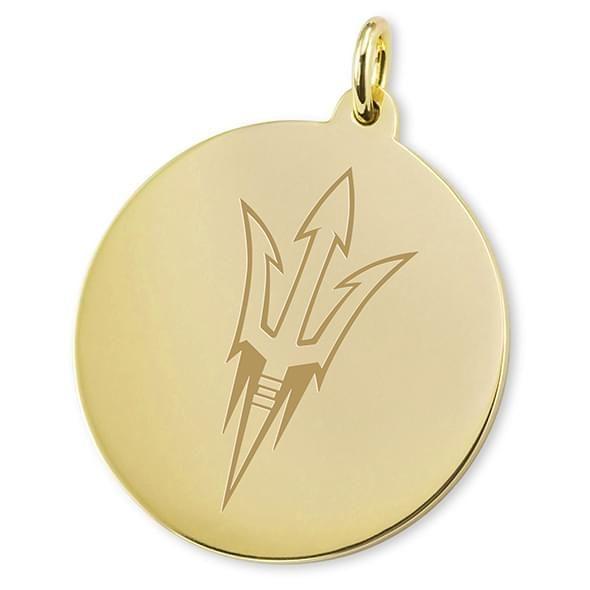 Arizona State 18K Gold Charm - Image 2
