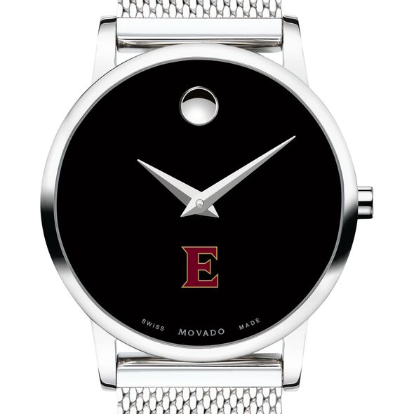Elon University Women's Movado Museum with Mesh Bracelet