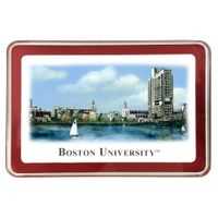 Boston University Eglomise Paperweight