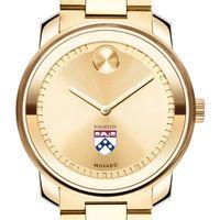 Wharton Men's Movado Gold Bold