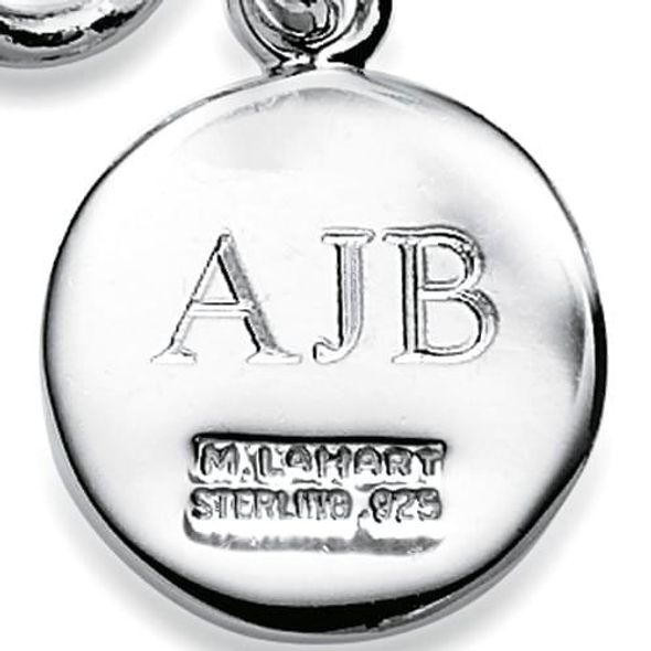 Boston University Sterling Silver Charm Bracelet - Image 3