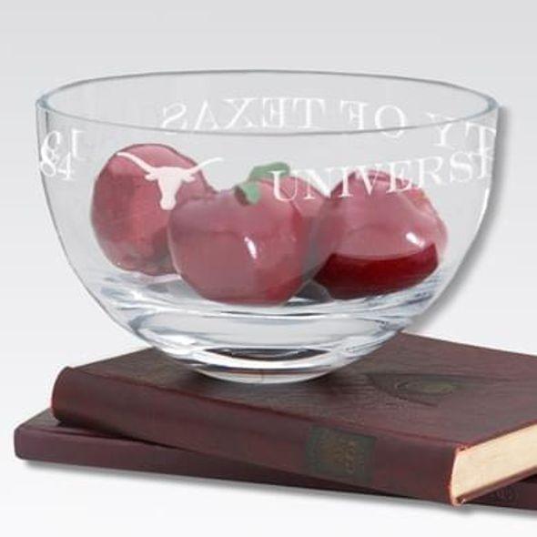 "Texas 10"" Glass Celebration Bowl"