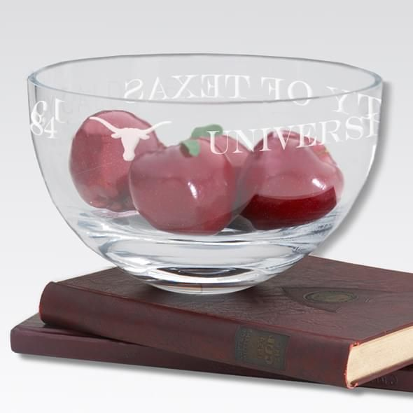 "Texas 10"" Glass Celebration Bowl - Image 2"