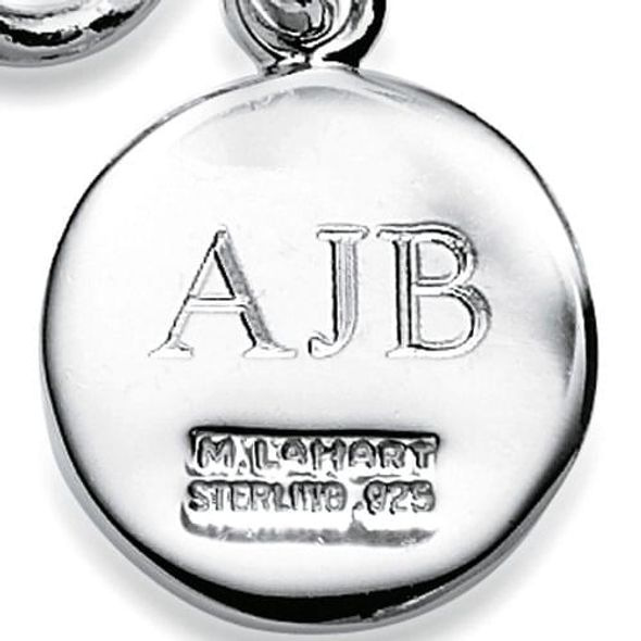 Berkeley Sterling Silver Insignia Key Ring - Image 3