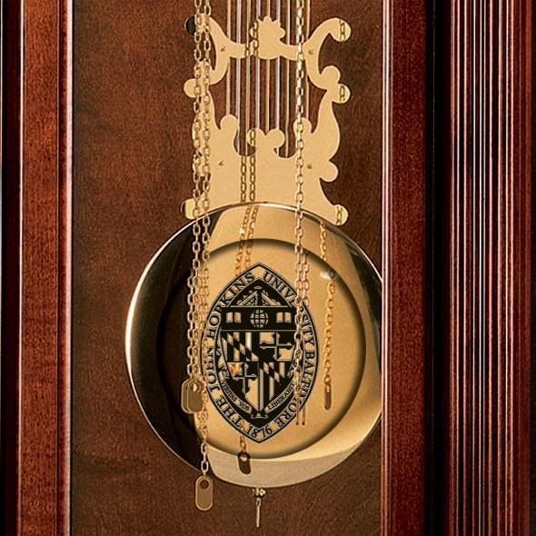 Johns Hopkins Howard Miller Grandfather Clock - Image 2