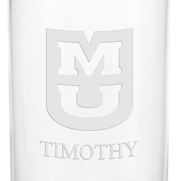 University of Missouri Iced Beverage Glasses - Set of 4 - Image 3