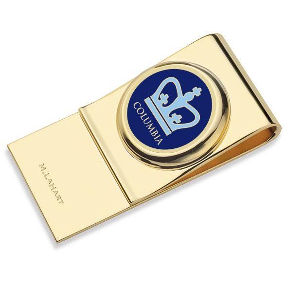 Columbia University Enamel Money Clip