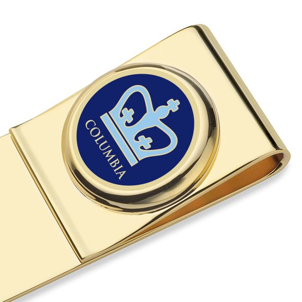 Columbia University Enamel Money Clip - Image 2