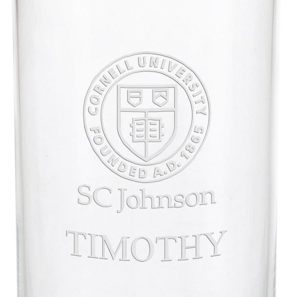 SC Johnson College Iced Beverage Glasses - Set of 2 - Image 3