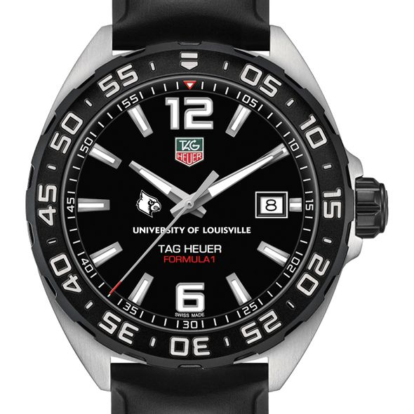 University of Louisville Men's TAG Heuer Formula 1 with Black Dial